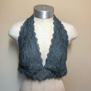 Intimately free people halter lace bra bralette